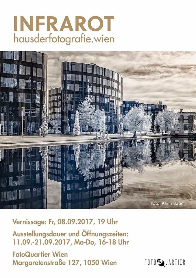 "Gruppenausstellung ""Infrarot""  Haus der Fotografie, Wien, 2017"